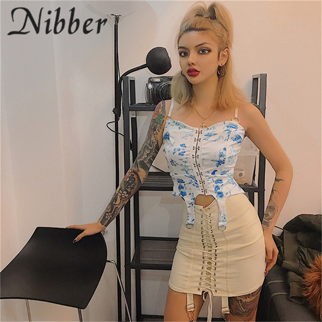 Nibber spring new office lady Elegant mini skirts womens2019summer club party night evening pleated ladies Street casual skirt 48