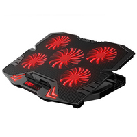 New Laptop cooler 2 USB Ports and Five cooling Fan laptop cooling pad Notebook Stand for 12 15.6 inch for Laptop