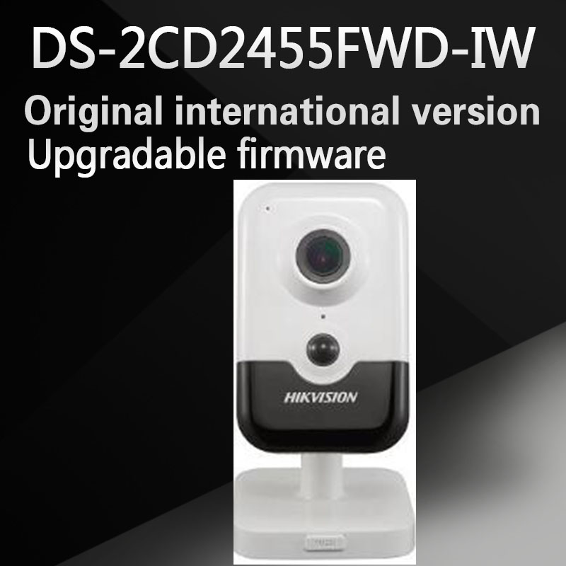 DHL Free shipping 5 MP EXIR Fixed Cube Network Camera DS-2CD2455FWD-IW with wifi
