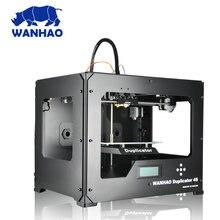WANHAO Duplicator 4 D4S Dual extruder 3D Printer Dual color FDM house 3D Printing machine