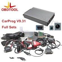 2016 новые V9.31 CARPROG Полный 21 Адаптеры Профессиональный CAR PROG программатор для водителя/радио/тире/ИММО/ ЭБУ инструмент автоматического ремонта