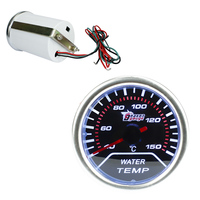 BYGD Universal Car 2 52mm Smoke Lens 40 150 Degrees Water Temperature Gauge Water Temp Meter