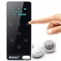 RUIZU X05 Kim Loại HIFI MP3 Player với 8 GB lưu trữ và Màn Hình nút cảm ứng chơi 100 h chất lượng cao Lossless chất lượng âm thanh sport mp3