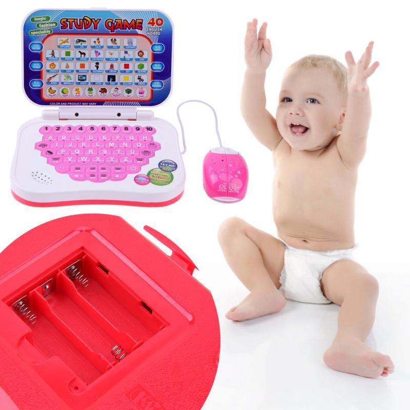Niños De Aprendizaje Portátil Juguete Chico Los Ordenador Bilingüe Máquina Alfabeto kX0N8OnPZw