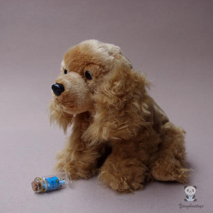 Plush Animals Toy Real Life Cocker Spaniel Doll Stuffed Toys Dog Child Dolls Birthday Gift все цены
