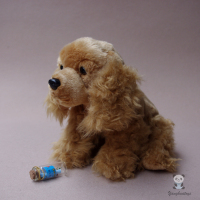 Plush Animals Toy Real Life Cocker Spaniel Doll Stuffed Toys Dog Child Dolls Birthday Gift