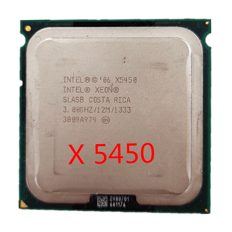 Intel Xeon X5450 CPU works on LGA 771 mainboard 3.0GHz 12MB 1333MHz Quad-Core Processor image