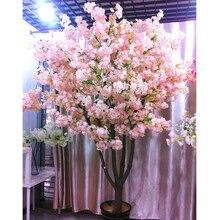 160 голов, шелк, цветущая вишня, шелк, искусственный цветок, букет, искусственная вишня, дерево для домашнего декора, сделай сам, Свадебный декор