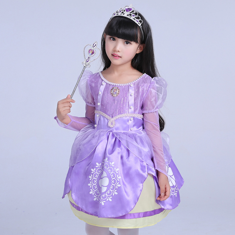 Promoción de Niñas Largo Púrpura Vestidos Formales ...