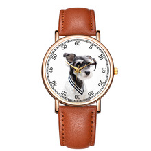 Lovely Watches Dog Dial Wrist Watches for Women and Men's Watches