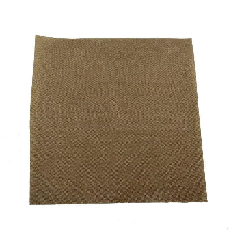 Teflon Sheet for Heat Transfer Heat Press Teflon Film Sublimation 0.18mm, heat resistance film for sealing machine teflon cover sheet 16 x16 transfer paper iron on heat