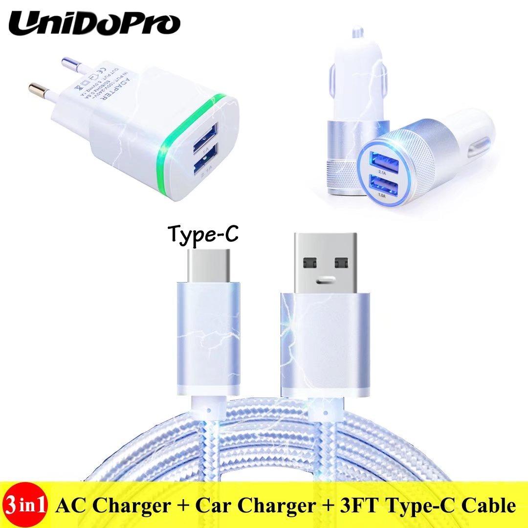 3ft Type C Cable For Sony Xperia L1 L2 Xz3 Xz2 Xz1 Xz Premium Xcompact Xa1 Xa2 Ultra Xa3 Eu Plug Ac Charger Intelligent Us Car Charger