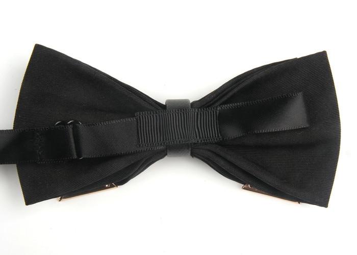 Mens bowla Polyester Justerbar bowknot business bröllopsfest fjäril - Kläder tillbehör - Foto 2