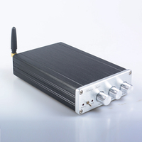 Breeze audio BA10C TPA5613 Hifi 2.1 Bluetooth 4.0 75W*2+150W Subwoofer Digital Audio Power Amplifier Aluminum Amplifier DC18 32V