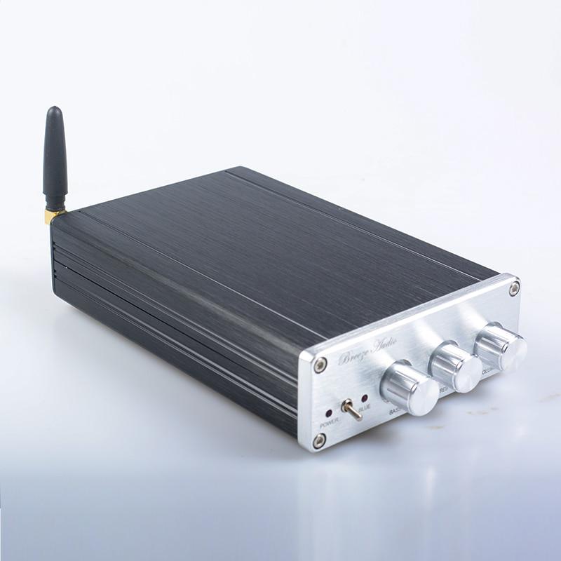 Brise audio BA10C TPA5613 Hifi 2.1 Bluetooth 4.0 75 w * 2 + 150 w Subwoofer Amplificateur de Puissance Audio Numérique amplificateur en aluminium DC18-32V