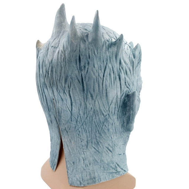 Night King Walker Face Latex Mask 3