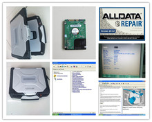 alldata mitchell ondemand 2 in 1 installed in laptop cf-30 (4g) all data 10.53 car & truck repair software installed best