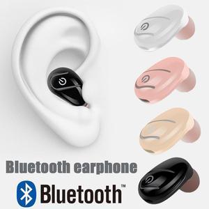 Image 2 - S750 Bluetooth אוזניות מיני אלחוטי Invisible ספורט באוזן מיקרו סאונד אוזניות השמעת מוסיקה באיכות גבוהה