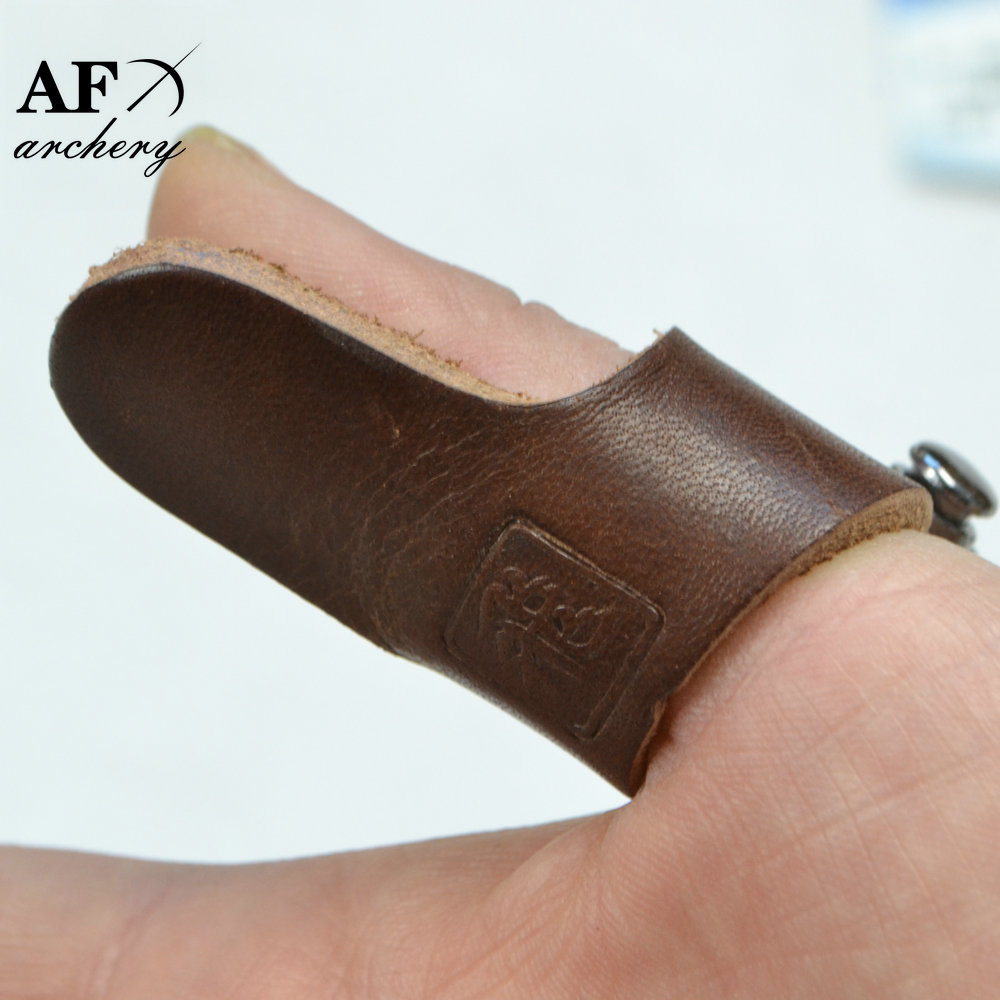 Finger Design Archery Protect Glove Archery Shooting Glove Leather Archery Single Seam Glove Traditional Shooters Glove