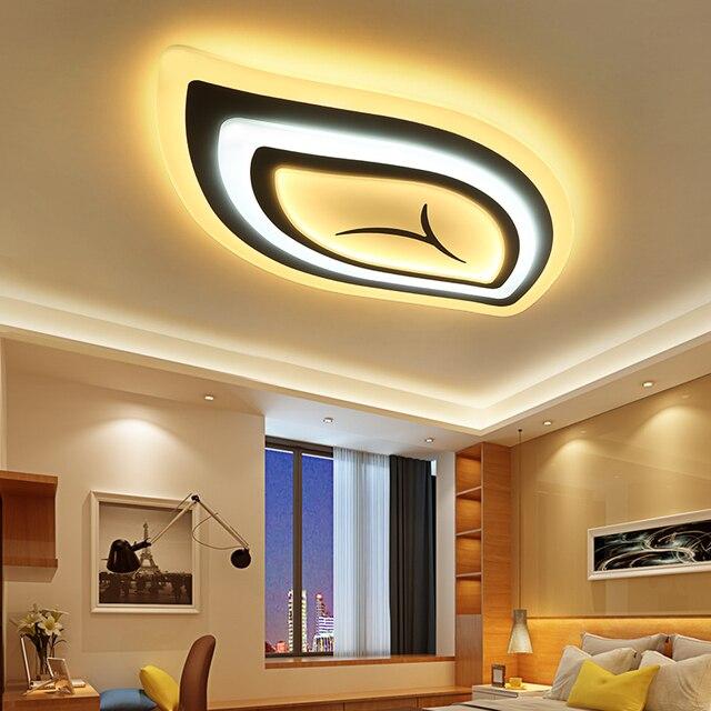 US $95.7 42% di SCONTO|Albero a foglia acrilico moderna LED lampadario per  soggiorno camera da letto ha condotto moderna illuminazione RC dimmerabile  ...