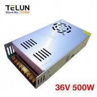 Free Shipping DC36V 500W 13A AC220V Or 110V To 36V DC Regulated Transformer Switching Power Supply