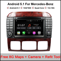 Android 5 1 1 Car DVD For Benz S Class W220 S280 S420 S430 S320 S350