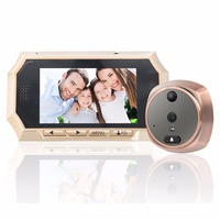 516A 4 3 Inch LCD Screen 160 Degree Wide Angle Home Security Peephole Door Viewer Night