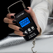 X1 Portable Digital Luggage Scale Travel Electronic Mini Hanging Measuring Tools Gram Precision Balance Pocket LCD 50KG