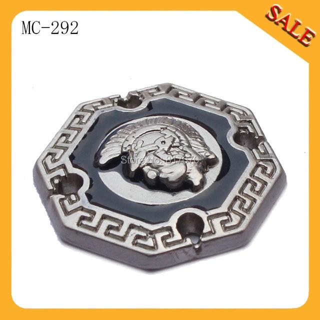 cheap ysl - MC292 Custom handbag metal logo plates clothing tags Hand tag ...