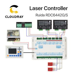 Image 5 - Cloudray Ruida RD RDC6442G Co2 בלייזר עבור לייזר חריטה וחיתוך מכונת RDC 6442 6442G 6442S