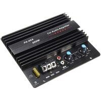 12V 600W PA-60A Speaker Subwoofer Bass Modul Daya Tinggi Car Audio Mono Channel Tahan Lama Lossless Amplifier Papan