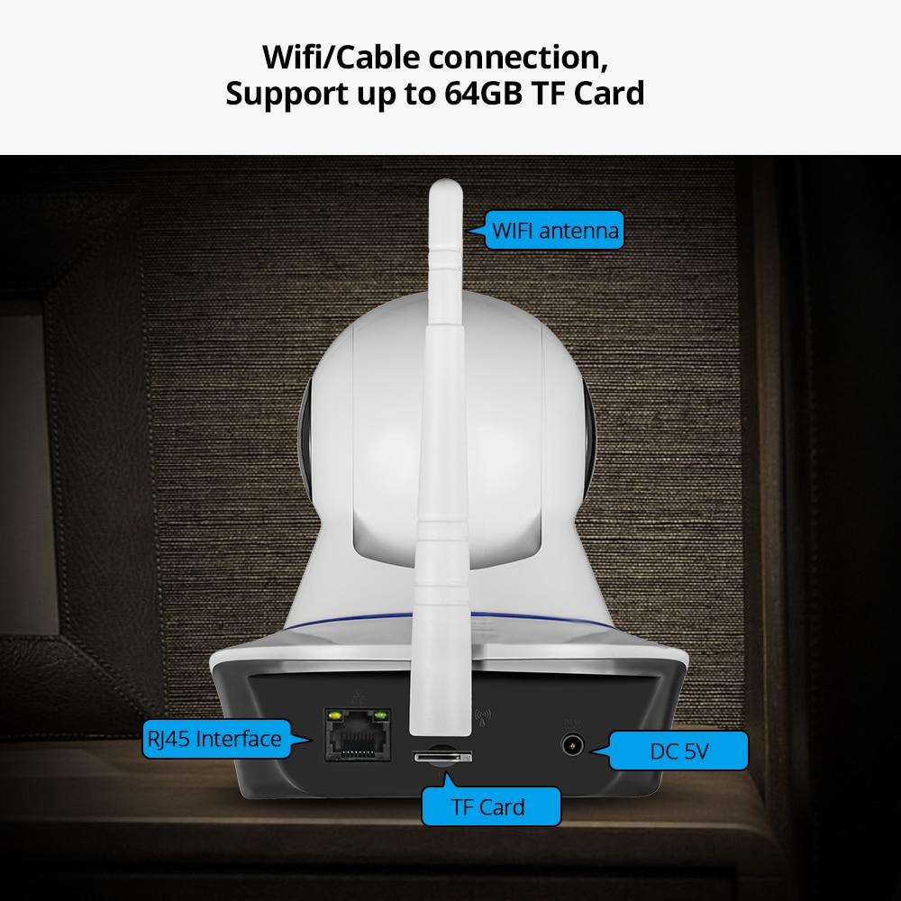 KERUI 720P 1080P HD Wifi Wireless Home Security IP Camera w/ IR Night Vision Baby Monitor 2