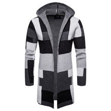 Sweater Men New Arrival Autumn Winter 2018 Matching Cardigan Jacket Men's Long Sweater Male Clothing Street Wear Thick Coat