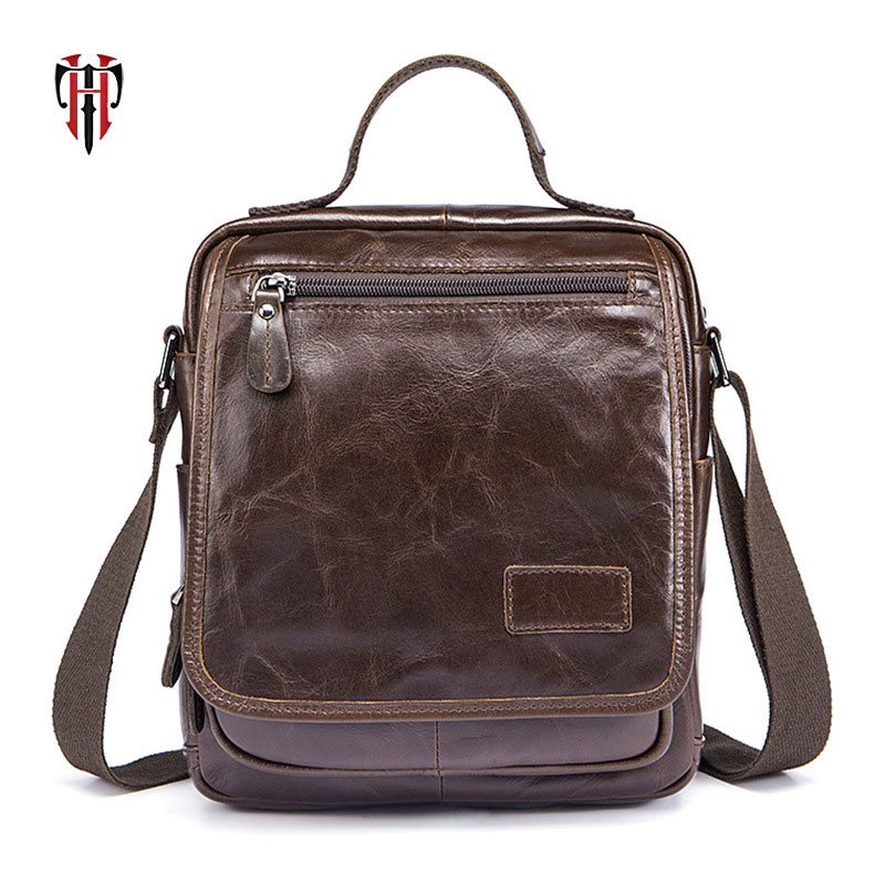 TIANHOO mens bags of genuine leather vintage style handle bags 2018 summer famous brand crossbody messenger male totesTIANHOO mens bags of genuine leather vintage style handle bags 2018 summer famous brand crossbody messenger male totes