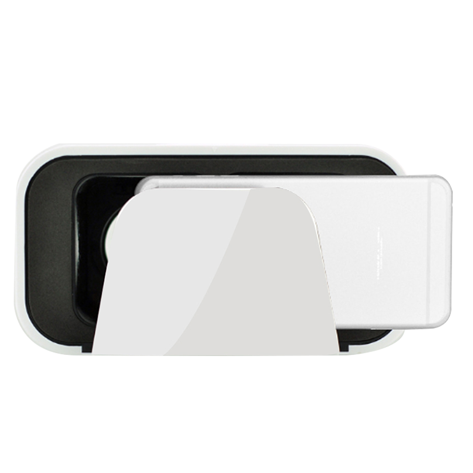 CAJA de VR VR 3D Gafas Casco Google Cartón Realidad Virtual Gafas 3D 3D de 360 G