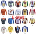 Cosplay Dragon Ball Naruto One Piece Tight T-shirt men running gym bodybuilding compressed long sleeve t shirt tights