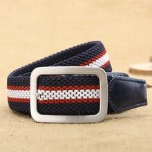 2017 Hot NOS Men Canvas Outdoor Belt Military Equipment Cinturon Western Strap Men's Belts Luxury For Men Tactical Brand Cintos
