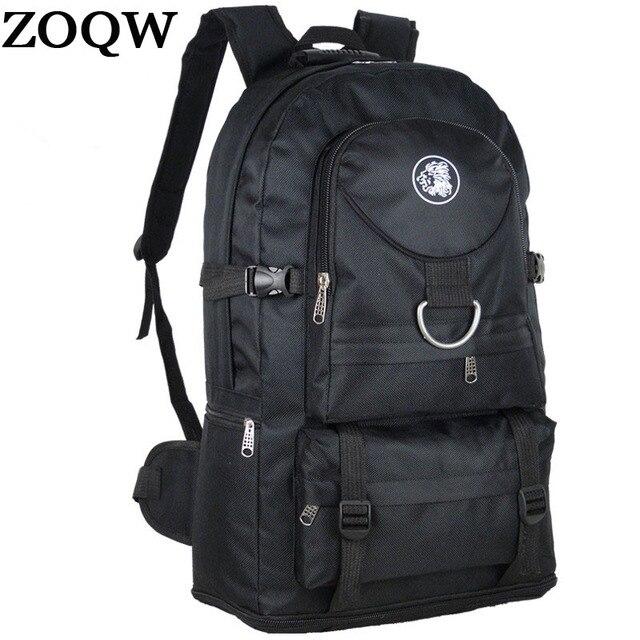 38728a6bacda Большой Ёмкость дорожные сумки Водонепроницаемый нейлон Рюкзаки для Для мужчин  сумка Mochila рюкзак альпинизм мешок Для