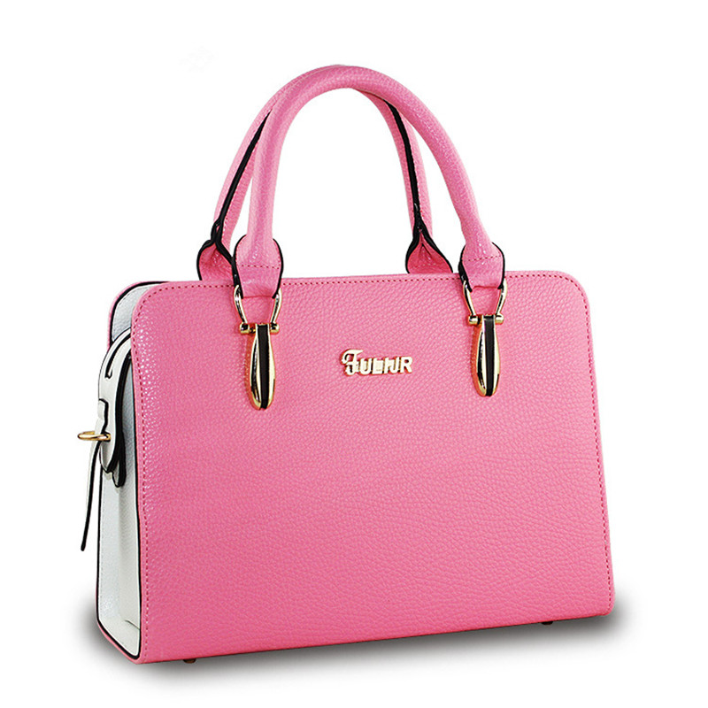 558d5d8caf51 Fashion Candy Colors Female Handbags Good Quality Pu Leather Ladies  Shoulder Bags Handbag Women Famous Brands Designer Satchel-in Top-Handle  Bags from ...