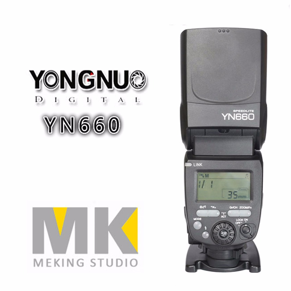 YONGNUO YN660 Speedlite for Canon RT Radio Trigger System Master Flash ST-E3-RT YN600EX-RT YN560IV yn e3 rt ttl radio trigger speedlite transmitter as st e3 rt for canon 600ex rt new arrival