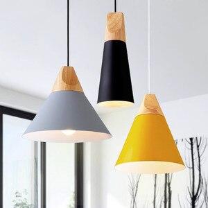 Image 3 - LukLoy Modern Kolye Tavan Lambaları Loft Mutfak LED kolye Işıkları Hanglamp Asılı aydınlatma armatürü Nordic Armatür