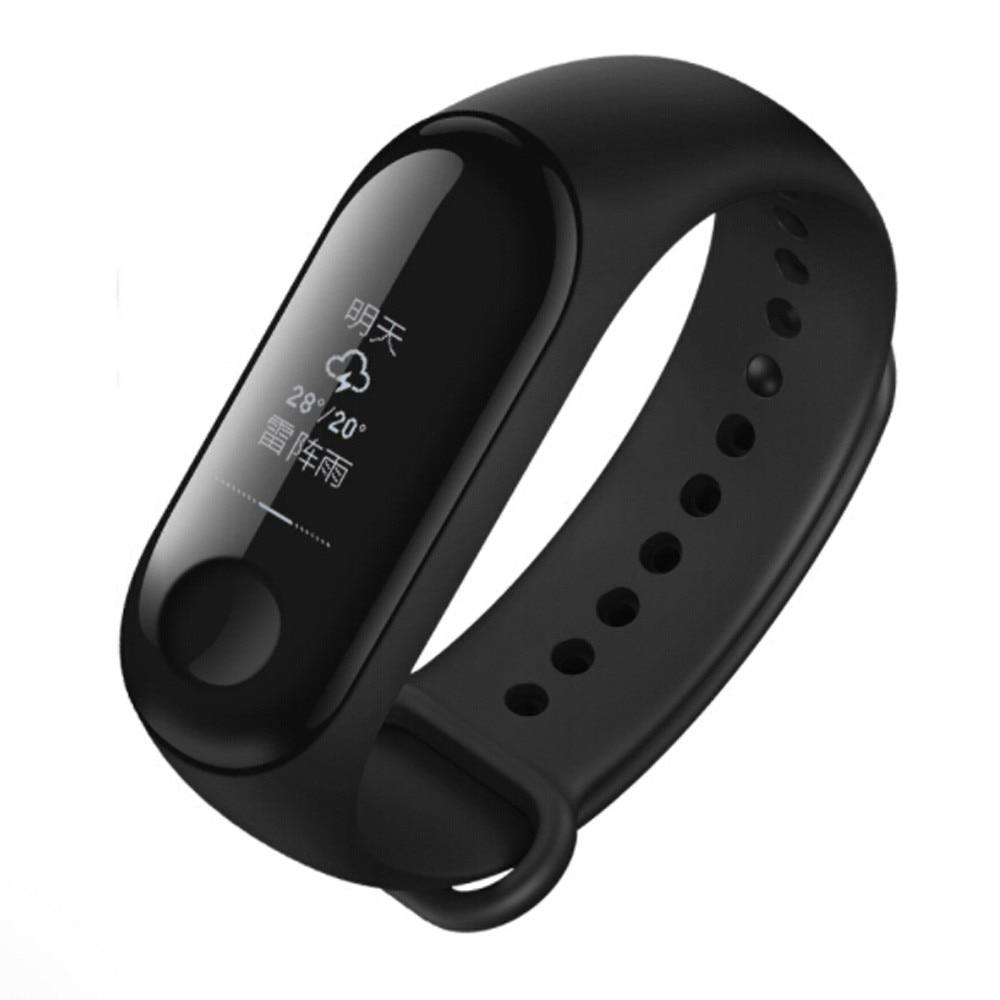 Xiaomi Mi Band 3 Smart Wristband Bracelet OLED Display 50m Waterproof 100% Brand New Original Xiaomi Mi Watch 30 цены онлайн