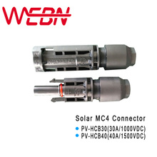 PV-HCA30 30A 1000VDC/PV-HCB40 40A 1500VDC PV Photovoltaic Male Female Solar MC4 Connector for Cable TUV IEC Standard 10 Pairs цена