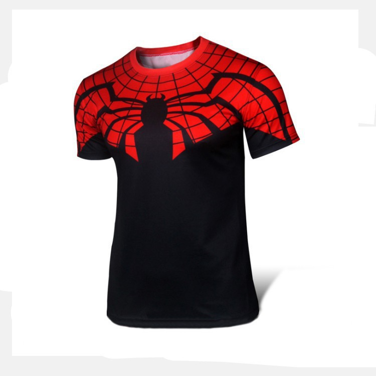 berthatina summer compression 3d t shirt superman spiderman t shirt men tee shirt fashion funny. Black Bedroom Furniture Sets. Home Design Ideas