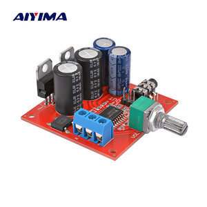 AIYIMA TPA6120 Headphone Amplifier Board Amplificador Stereo Enthusiast Headphones AMP With Volume Adjustment