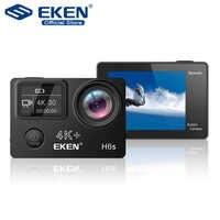 EKEN H6s 4 K + Ultra HD 14MP mit EIS Fern Sport Camcorder Ambarella A12 Chip Wifi 30 m Wasserdichte panasonic Sensor Action Kamera