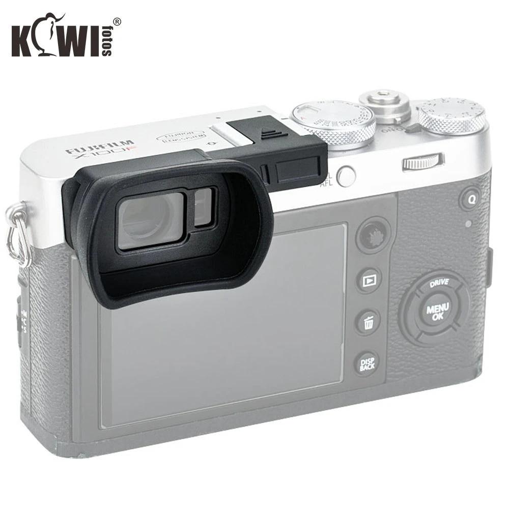 JJC KE-X100FL Silicone Eyecup Eyeshade Eyepiece for Fujifilm X-100F Camera