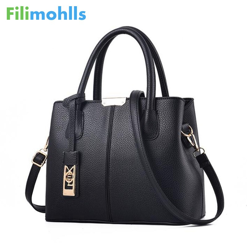 2018 hot sale women handbags PU Leather handbags ladies shoulder handbag women messenger bags female bolso women bag tote S1178