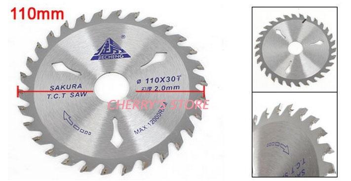 Silver Tone Wood Cutting Cutter Blades Saw 4.3