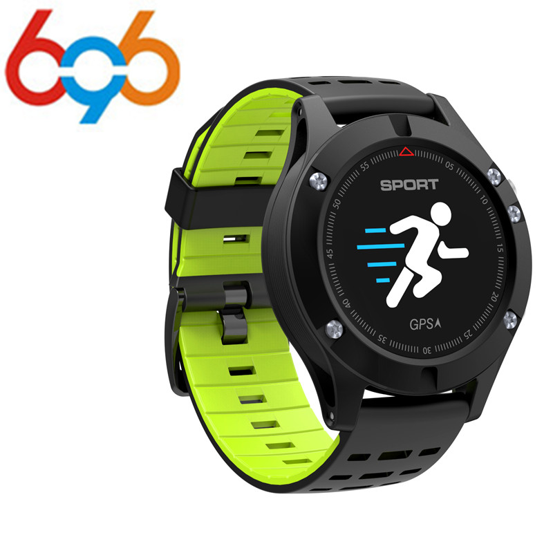 696 2018 F5 GPS Smart watch Altimeter Barometer Thermometer Bluetooth 4.2 Smartwatch Wearable devices for iOS Android цена